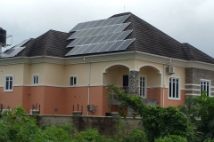 8kw Solar installation at Abuja.