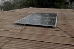 1kw Solar  installation at Enugu